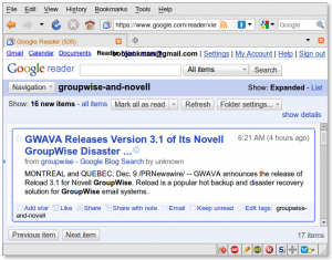 Bad Headline: GWAVA Releases Version 3.1 of its Novell GroupWise Disaster