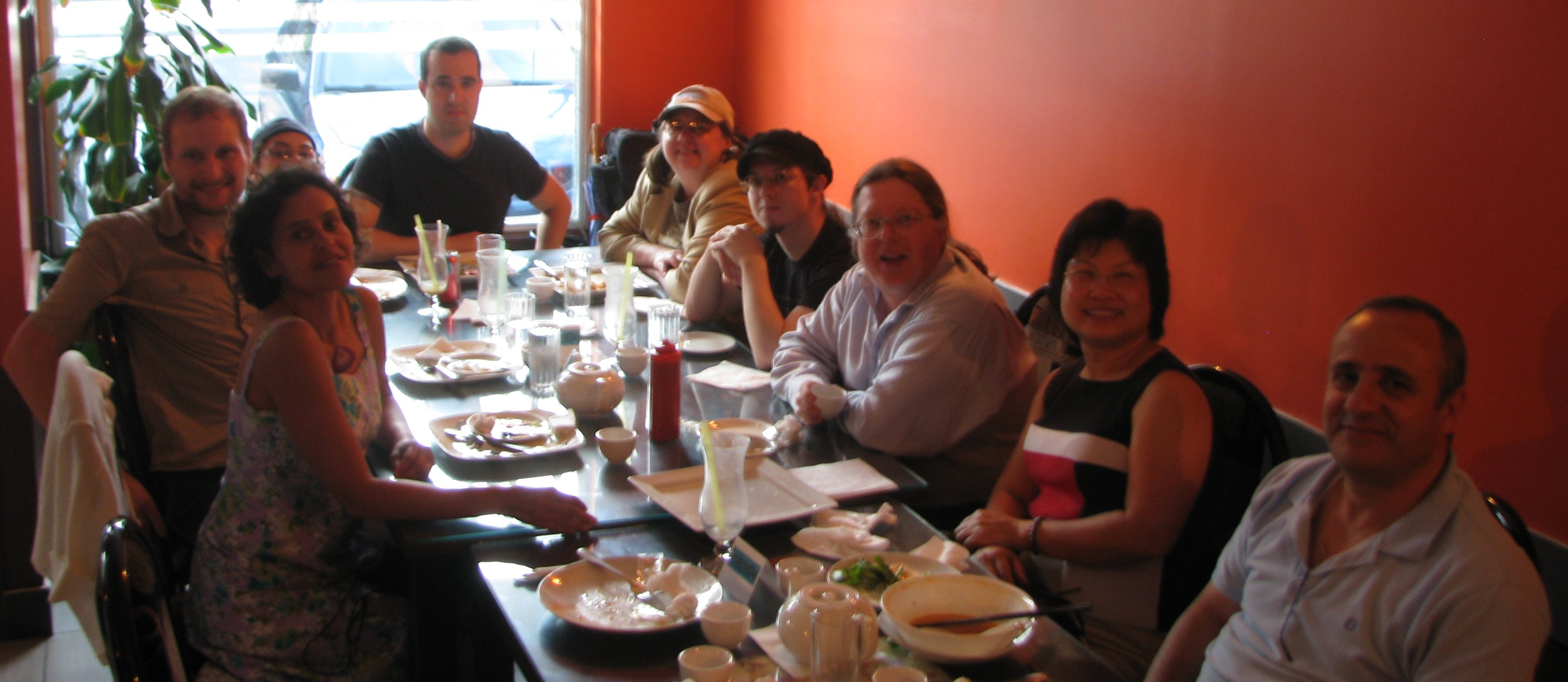 Group Photo, SysAdminDay Dinner, 27 July 2012