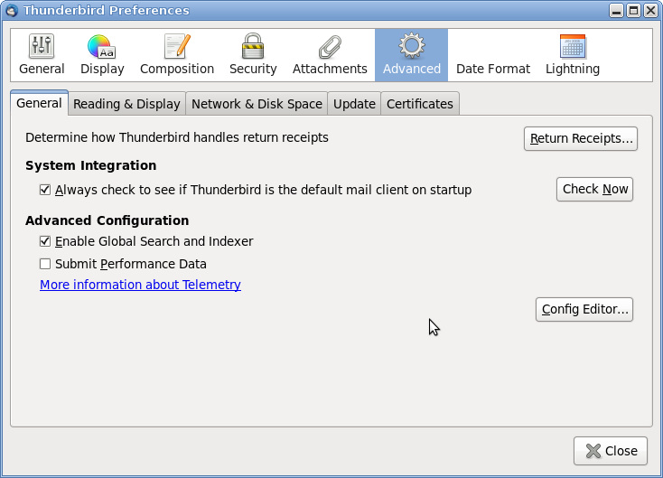Screenshot-Thunderbird Preferences