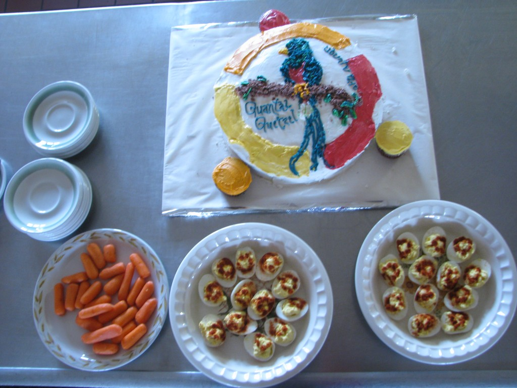 Quantal Cake and Devilled Eggs