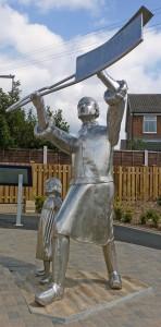 Statue of a Luddite