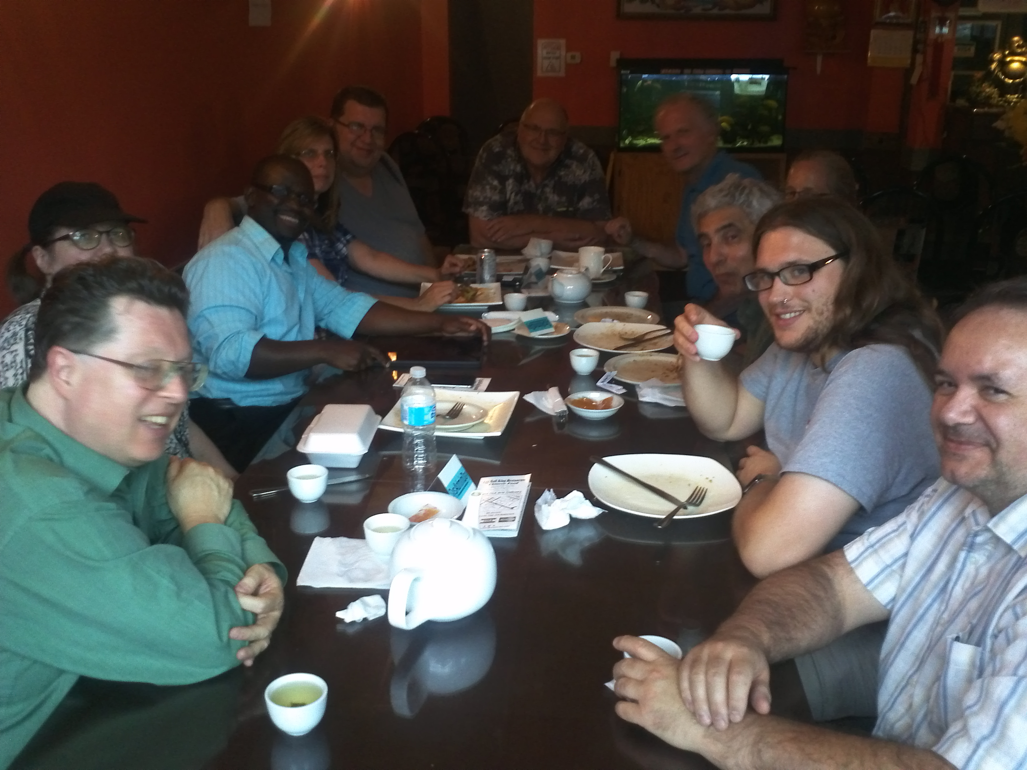 System Administrators at the Egg Roll King Restaurant